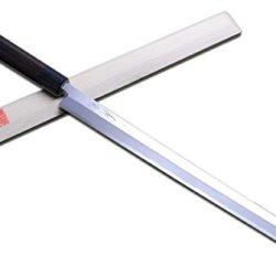 "Yoshihiro High Carbon Kasumi Takobiki Sushi Sashimi Chef Knife 13"" (330Mm) Rosewood Handle"