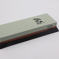 Annengjin® Taidea 120/400 Grit Combination Corundum Whetstone Knife Sharpening Stone / Double-Sided