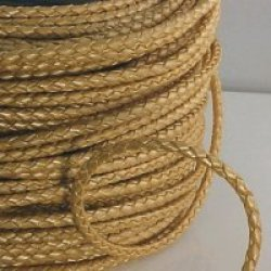 "Metallic Gold Braided Bolo Cord,3Mm (1/8"")X10 Meters(10.93Yd)"