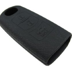 Ijdmtoy Soft Silicone Remote Smart Key Holder Fob For Mazda 3 6 Mx-5 Cx-7 Cx-9, Etc