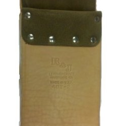 R & J Leathercraft Carpet Knife Grip Pouch, Made In Usa*****