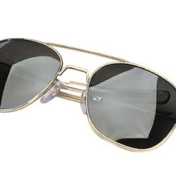 Aviator Sunglasses - Gi Pilot Type, Smoke/Gold, 58Mm By Rothco