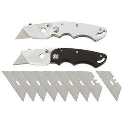 New Maxam 2Pc Razor Folding Knives Sarazor2