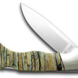 Boker Tree Brand Genuine Mammoth Tooth Folder Pocket Knife Knives
