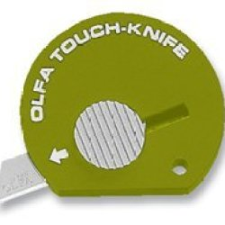 Olfa Touch Knife Tk-4O Model 1083065 Olive Green