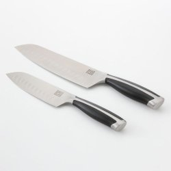 Bobby Flay 2-Pc. Professional Santoku Knife Set