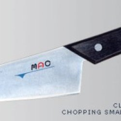 Mac Heavy Duty Cleaver With Black Handle