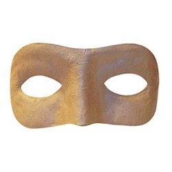 Chenille Kraft Company Paper Mache Mask Half