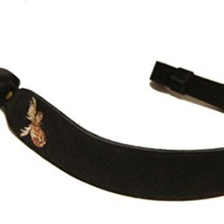 Levy'S Leathers Sns20Em Suede Leather Cobra Rifle Sling (Black)
