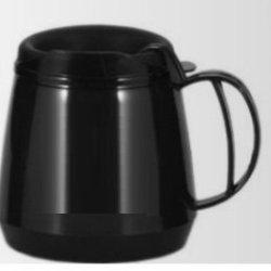 20Oz. Foam Insulated Wide Body Thermoserv Mug (Black)