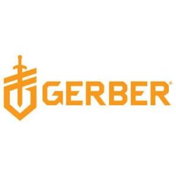 Gerber Knives 30-001004 Decree, Black Rubber Over-Molded Gfn, Black Tanto Comboedge