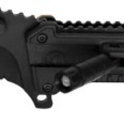 """4.5"""" Assisted Opening U.S. Marine Corps Tactical Rescue Folder Folding Knife With Led Light Attached Desert Camo"""