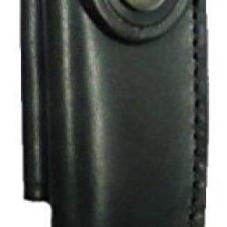 Forge De Laguiole - Buron Black Leather Belt Sheath For 11 Cm Pocket Knives