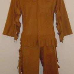 6786 (S 4-6, Brown) Child Frontiersman Costume F/R