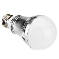 E27 7W 560Lm 3500K Warm White Led Candle Bulb(110-220V)