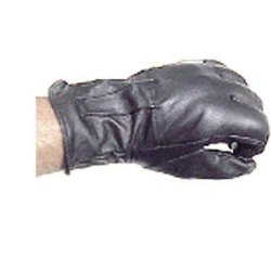 Sap Gloves With Steel Shot Knuckles - Large