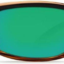 Costa Del Mar Caballito Adult Polarized Sunglasses, Coconut Fade/Green Mirror Glass, Medium