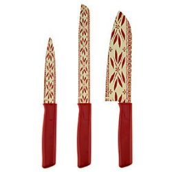 Temp-Tations 3-Pc Old World Chef Bread And Utility Knives