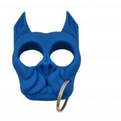 Brutus The Bull Dog - Self Defense Keychain - Blue