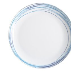 Kahla Five Senses Breakfast Plate 8-3/4 Inches, Whirl Blue Turquois Color, 1 Piece