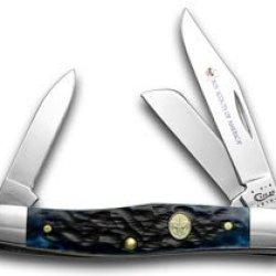 Case Xx Navy Blue Bone Boy Scouts Of America Stockman Pocket Knife Knives