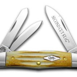 Case Xx Second Cut Stag Humpback Whittler 1/250 Pocket Knife Knives