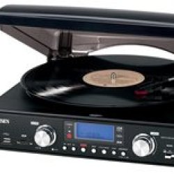 3-Speed Stereo Turntable With Mp3... 3-Speed Stereo Turntable With Mp3...