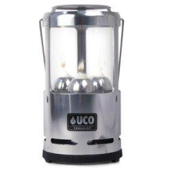 Uco Candlelier Deluxe Candle Lantern, Aluminum