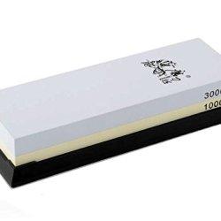 Taidea 1000/3000 Grit Combination Corundum Whetstone Knife Sharpening Stone / Double Two-Sided