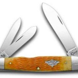 Case Xx Persimmon Orange Cigar Whittler 1/100 Vintage Series Pocket Knife Knives