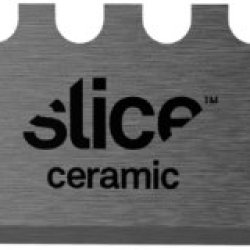 """Slice Industrial 10524 Ceramic Super Safe Utility Replacement Blade, 11/32"""" Length X 3.9"""" Width X 6.2"""" Height, Black (Case Of 6 Packs, 2 Blades Per Pack)"""