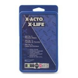 X-Acto X511 #11 Blades For X-Acto Knives, Bulk Pack, 500 Blades Per Box