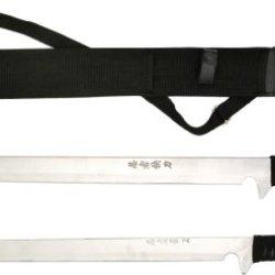 Bladesusa Hk-1067S Dual Ninja Swords 18-Inch And 26-Inch Overall