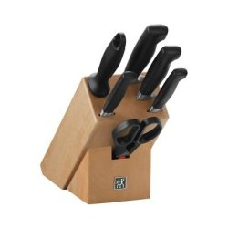 J.A. Henckels Four Star 7-Piece Block Set