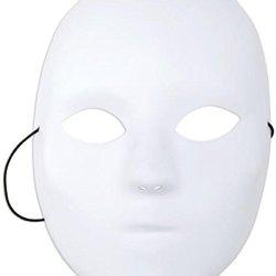 Mask It 71001 Full Female Mask, 8-1/2-Inch, White
