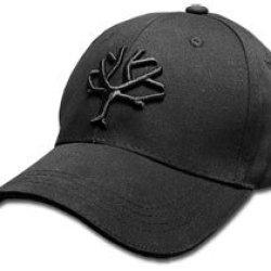Boker Tree Brand Blackout Black 100% Cotton Hat Baseball Cap