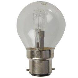 Eveready Lighting G45 Golf Eco Halogen Bulb 28 Watt (40 Watt) Bc/B22 Bayonet Cap Card Of 2 Eves4879