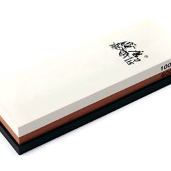 Taidea 600/1000 Grit Combination Corundum Whetstone Knife Sharpening Stone / Double Two-Sided
