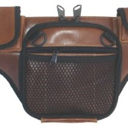 Dtom Law Enforcement Concealed Carry Fanny Pack Buffalo Leather - Brown