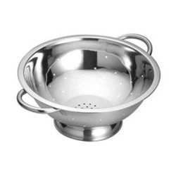 Tablecraft Stainless Steel Footed Colander, 5 Quart -- 1 Each.