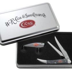 Case Cutlery 06034 Case Fishing Knife, Gray Bone