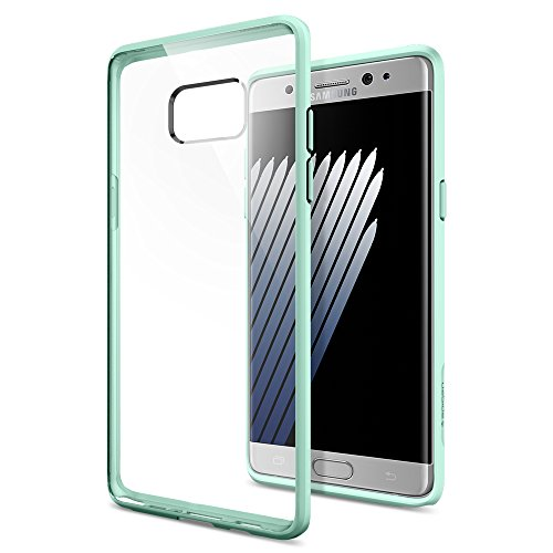 Galaxy-Note-7-Case-Spigen-Ultra-Hybrid-AIR-CUSHION-Mint-Clear-back-panel-TPU-bumper-for-Samsung-Galaxy-Note-7-2016-562CS20557