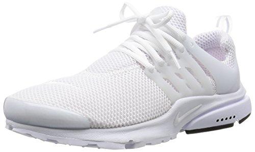 Nike Air Presto unisex erwachsene, synthetisch, sneaker low, Weiß,