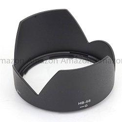 Pixco New Hb-58 Lens Hood / Lens Protector Suit For Nikon Af-S Dx Nikkor 18-300Mm F/3.5-5.6G Ed Vr Lens