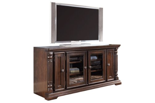 Image of Dark Brown TV Stand (ASLYW668-22)