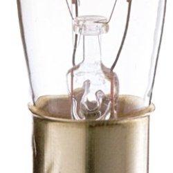 Satco S3901 130V 10/Sleeve Dc Bayonet Base 6-Watt 6S6/Dc Light Bulb, Clear