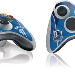 Nba - Player Jerseys - Dirk Nowitzki Dallas Mavericks Jersey - Skin For Microsoft Xbox 360 Wireless Controller