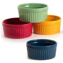 Norpro 4 Oz Ramekin Porcelian Assorted Colors