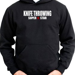 Super Star Knife Throwing Men Hoodie