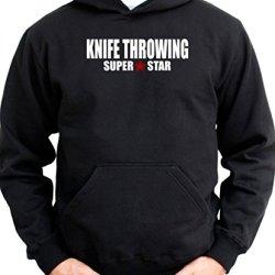 Super Star Knife Throwing Men Hoodie